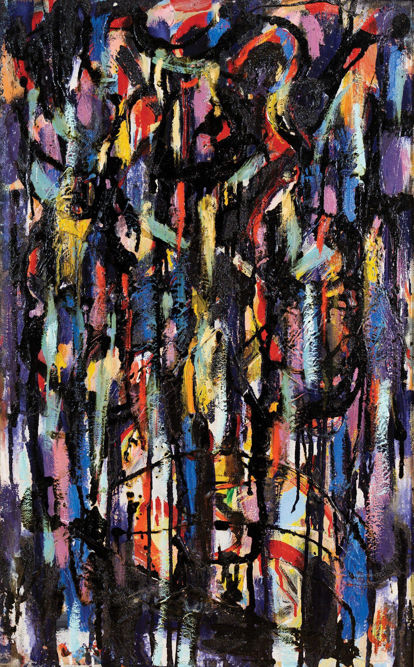 """Alex Salaueu """"Prelude"""", 1970"""