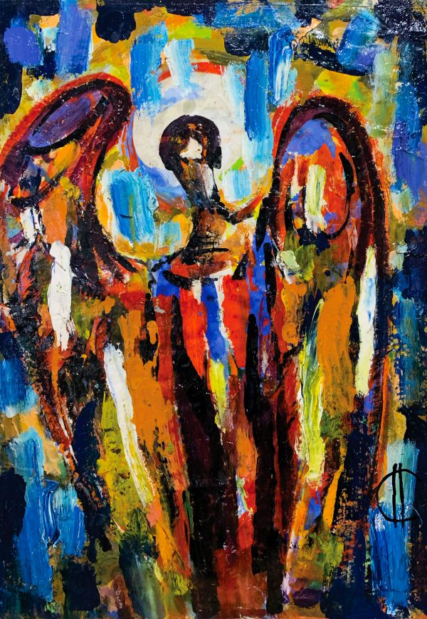 "Alex Salaueu ""Angel"" 1970"