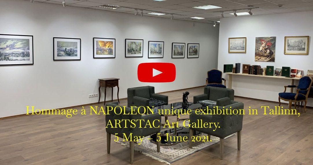 Napoleon exhibition, ArtSTAC ART GALLERY