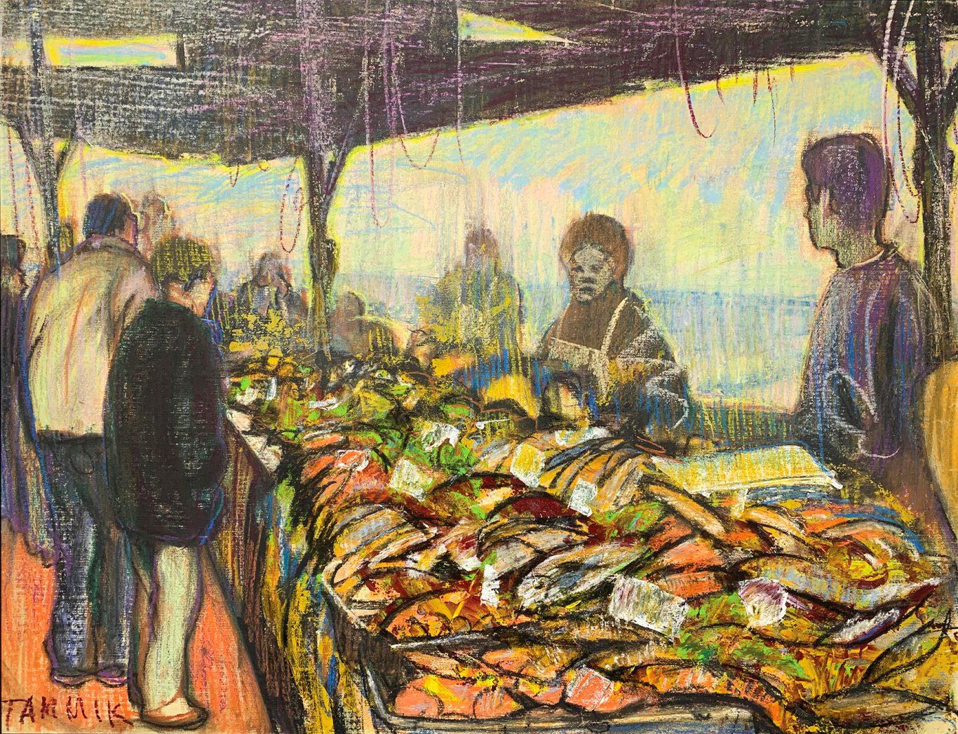 Rein Tammik Fish market 1991
